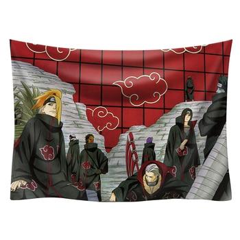 Japan Anime Boho decor Naruto wall hanging hippie boho  tapestry picnic mat beach towel mandala tapestry 200*150cm wall art 15