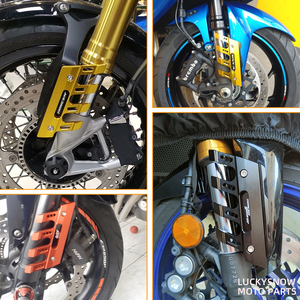 Image 2 - 오토바이 프론트 펜더 사이드 보호 가드 스즈키 하야부사 용 머드 가드 슬라이더 GSX1300R GSX 1300R 액세서리 유니버설