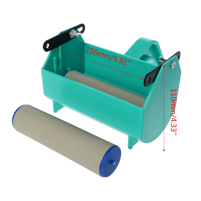 Single Color Decoration Paint Painting Machine For 5 Inch Wall Roller Brush Tool in Brush from Tools