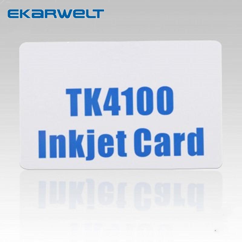 RFID 125KHZ TK4100 Chip Inkjet PVC ID CARD For Epson Canon Ink Jet Printers
