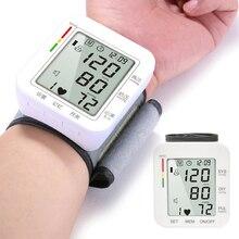цена на Automatic Tonometer Wrist Blood Pressure Monitor LCD Digital Sphygmomanometer Accurate Blood Pressure Monitor Heart Rate Meter