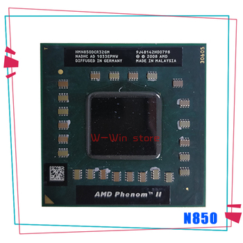 AMD Phenom II Triple-Core Mobile N850 2.2 GHz Three-Core Three-Thread CPU Processor HMN850DCR32GM Socket S1 1