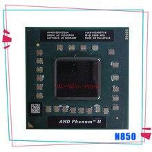 Amd phenom ii triple-core móvel n850 2.2 ghz três-núcleo processador cpu de três linhas hmn850dcr32gm socket s1