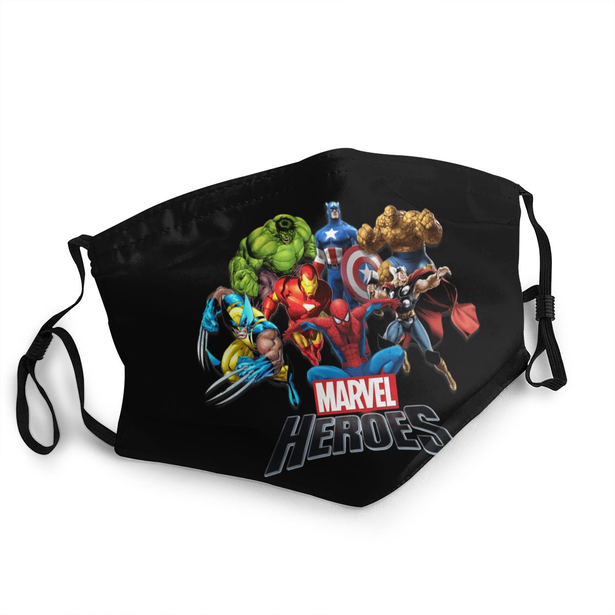 Printer Marvel Pm2.5 Filter Dust Mask Fashion Boys/girls Filter Mouth Foam Mask Marvel Legends Baseball Caps Ladies/mens Mask
