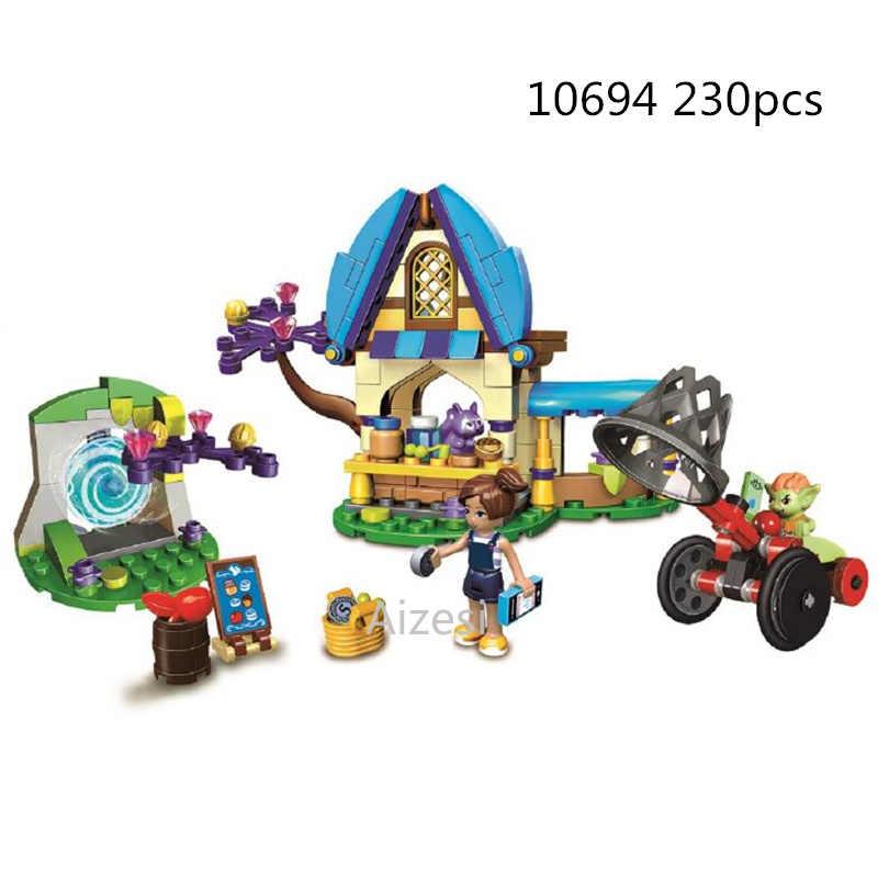 Ragazze Fata Elfi Serie di Dragon Fit Elfi Fata Amici Figure Building Block Mattoni Toy Ragazze Regalo Bambini Compatibile Legoinglys