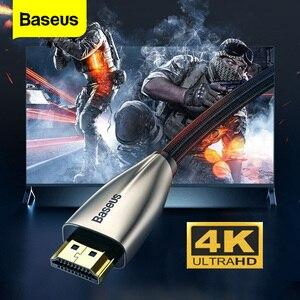 Image 1 - Baseus di Alta Velocità V2.0 Cavo HDMI 4K Video Cavo Per La TV Monitor Digitale Splitter PS4 Swith Box Proiettore HDMI filo di Cavo di 5M