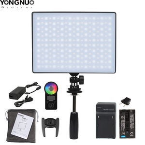 Image 1 - YONGNUO YN300Air II YN 300 Air Pro RGB LED Camera Video Light,Optional with Battery Charger kit Photography Light +AC adapter