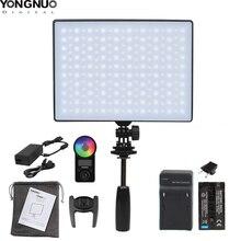 YONGNUO YN300Air השני YN 300 אוויר פרו RGB LED מצלמה וידאו אור, אופציונלי עם סוללה מטען ערכת צילום אור + AC מתאם