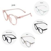 Новинка, круглые женские очки, анти-Радиационная оправа для очков, прозрачная Ретро винтажная оправа для очков, Женская оправа для очков