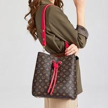 Bucket Handbags Messenger-Bag Flower Bag Women New-Designers Fashion Classical Barral