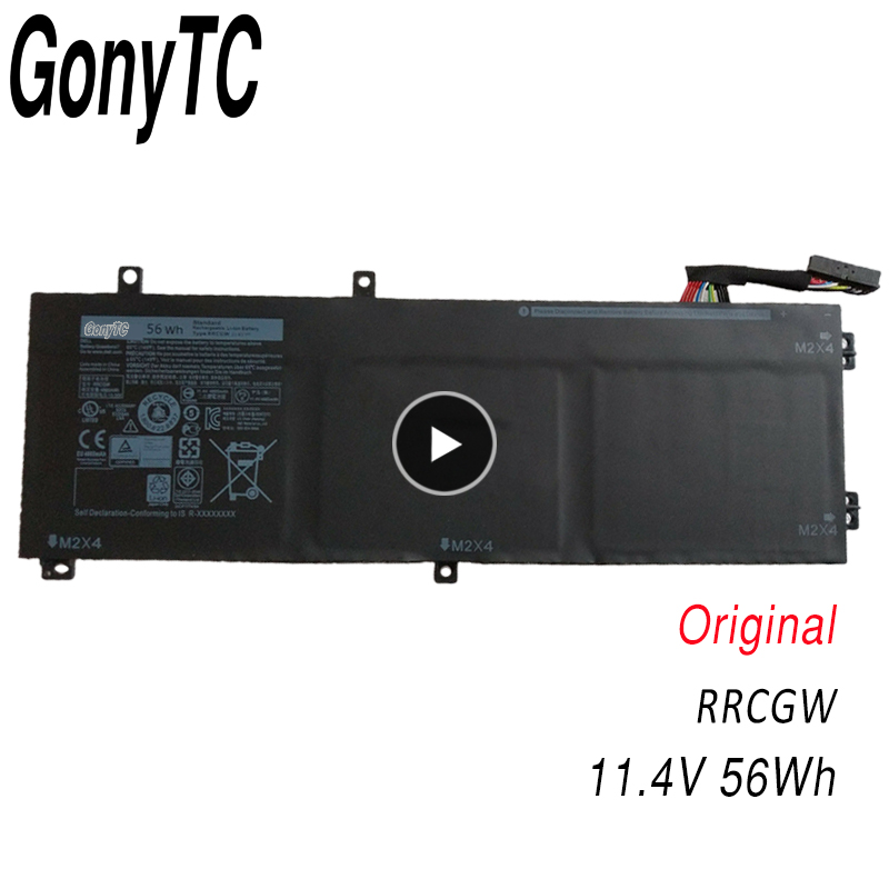 GONYTC RRCGW New original Laptop Battery For Dell XPS 15 9550 Precision 5510 Series M7R96 62MJV 11.4V 56WH image