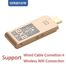 واي فاي محول HDMI + كابل USB ربط 2in1 الهاتف إلى شاشة التلفزيون Airplay النسخ المتطابق آيفون iOS هواوي P20 P30 LG أندرويد