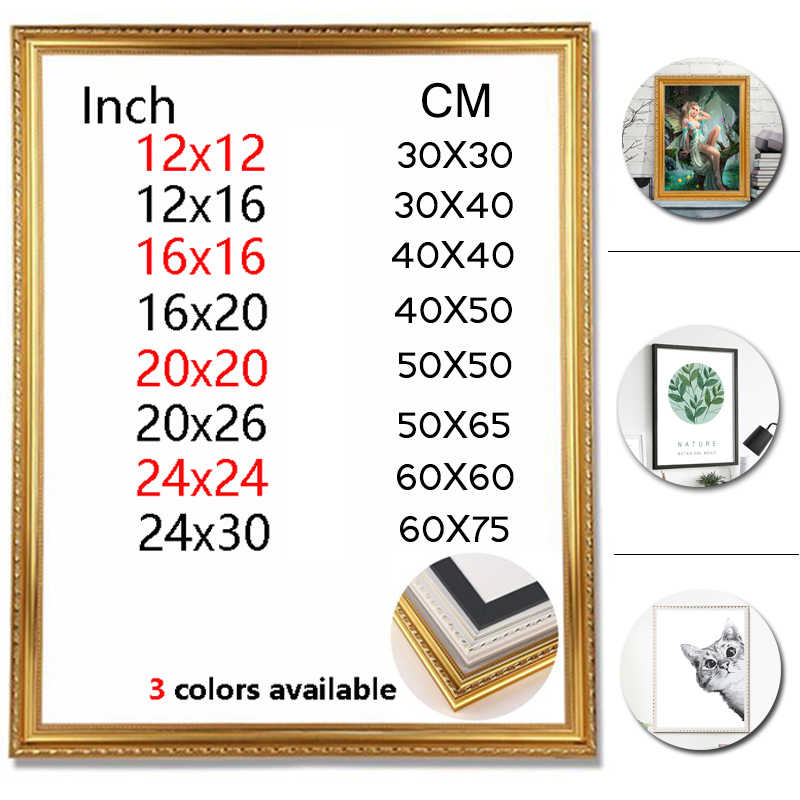 diy frame tolls for 5d diamond painting by numbers diamond embroidery accessories poster frame wall home decoration