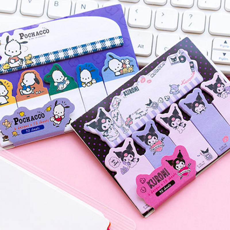 1pack /lot Lovely Japanese Cartoon Index Sticky Memo Pad N Times Sticky Notes School Office Papelaria
