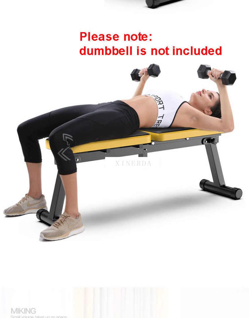 Opvouwbare Halter Bankje Multifunctionele Sit Up Abdominale Bankje Gewichtheffen Training Arm Spier Fitness Tool 27 Cm Zitbreedte