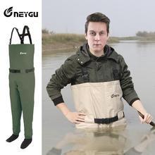 Дышащие рыбацкие болотники, высокое качество, охотничьи рафтинг брюки, стопкинги