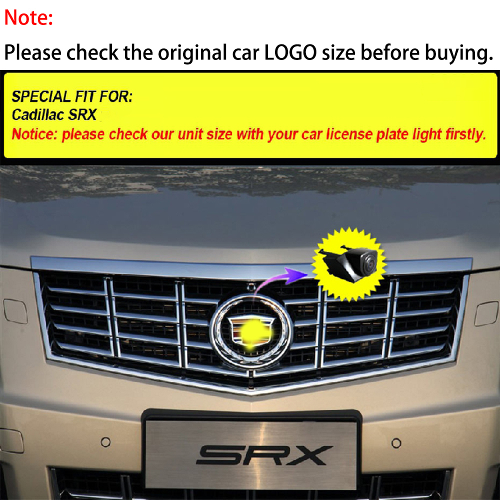 for Cadillac SRX 2014 2015 HD 720p Rear View Back Up Reverse Parking Camera in License Plate Waterproof Night Version NTSC
