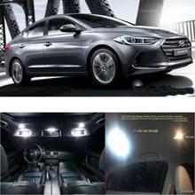 Светодиодный свет салона автомобиля для hyundai avante ad/avante