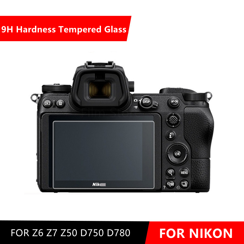 Z6 caméra originale 9H caméra verre trempé LCD protecteur décran pour Nikon Z6 Z7 Z50 D750 D780 caméra
