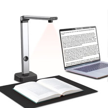 JOYUSING Book & Document Scanner, Auto-Flatten & Capture Size A3, Smart Multi-Language OCR, SDK & Twain for Office and Education