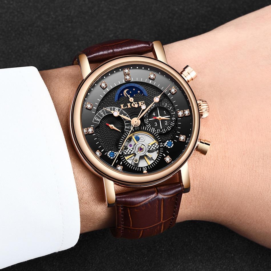 aço inoxidável relógio relogio masculino