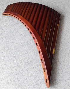 Image 5 - Professional musical instrument romania pan flute 25 pipes 22 pipes romanian base holder panflute C F G key