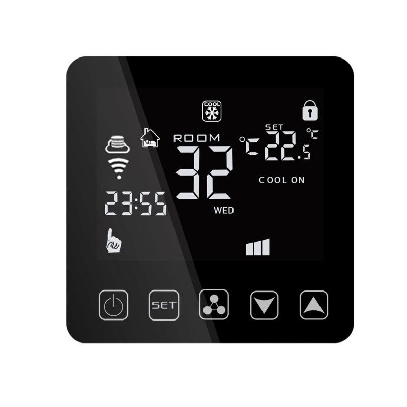 Wifi climatiseur Central Thermostat ventilateur bobine refroidissement température de chauffage télécommande commande vocale pour Alexa Google Assistant si