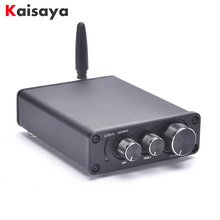 50W * 2 Bluetooth 5.0 TPA3116D2 HiFi כוח מגבר סיים לוח במקרה בית אודיו TPA3116 Amp עם טרבל בס I4 005 6 7