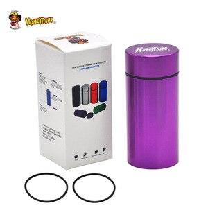 Image 4 - Honeypuff気密臭い防水アルミスタッシュ瓶タバコボックス金属ハーブ保存容器ピルボックス