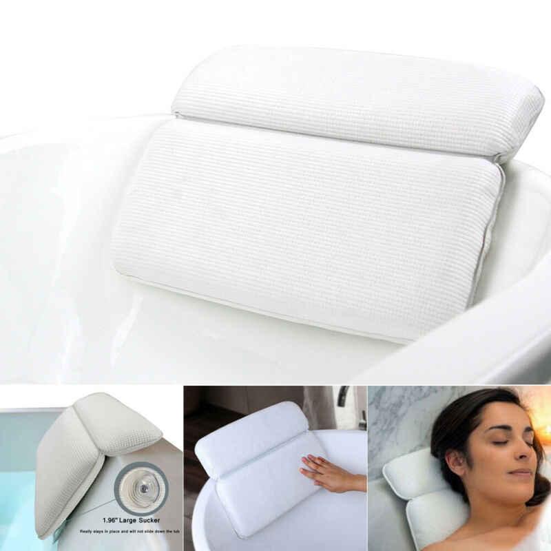 高級ホーム風呂スパ枕深い海綿状クッションリラックスマッサージ吸引カップ浴槽ネックバック快適サポートリラックスツール