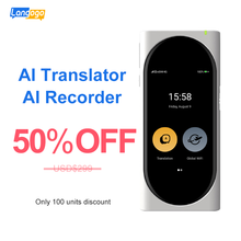 Langogo ai переводчик умный рекордер в реальном времени онлайн