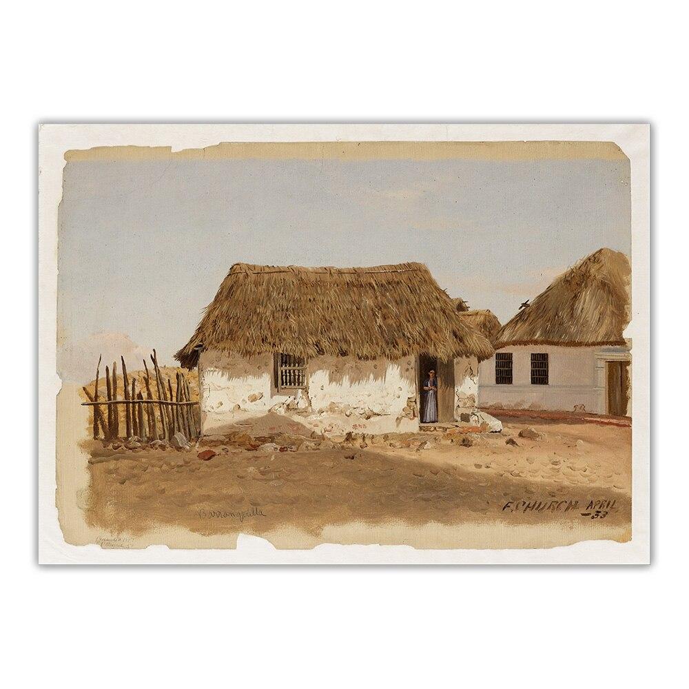 Купить цитаон церковь фредерика эдвина «колумбия» барранхилла два дома