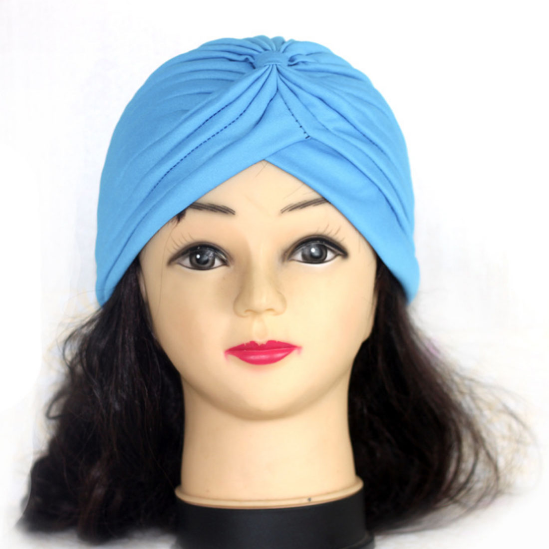 Хиджаб шарф тюрбан шапка s мусульманский головной платок Защита от солнца Кепка Женская хлопковая мусульманская многофункциональная тюрбан платок femme musulman - Цвет: 9