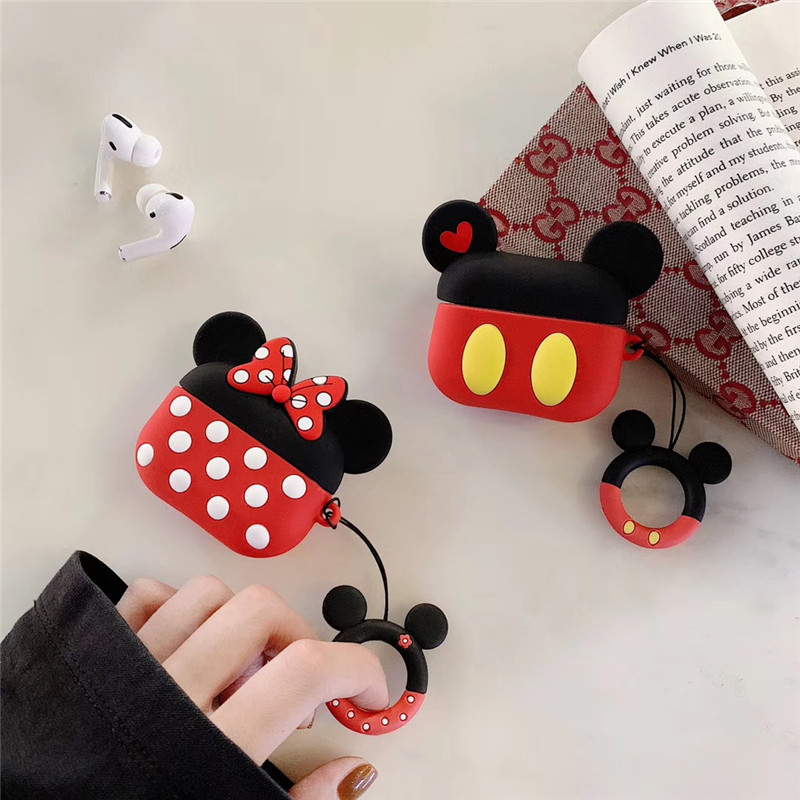 Cute 3D Silicone Case for AirPods Pro 146