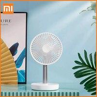 Xiaomi-ventilador de escritorio Mijia Jipin con carga USB, batería de 4000mAh, 4 modos, recargable, portátil, poco ruido, para el hogar y la Oficina