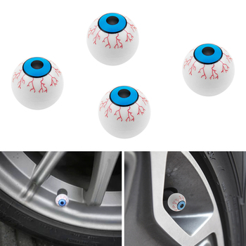 4pcs Funny Universal Car Smile Car Wheel Tire Valve Stem Air Caps Covers Motorcycle Car Assessoires Car Styling image