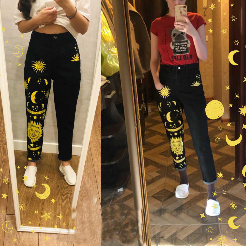 Pantalones-de-moda-con-estampa
