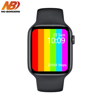 2020 Smartwatch IWO W26 44mm Watch 6 Smart Watch ECG Heart Rate Monitor Temperature IP68 Waterproof PK IWO 11 IWO 8 IWO 13