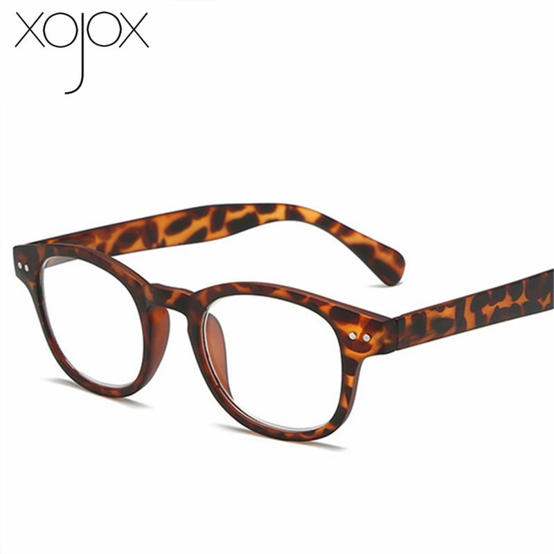 XojoX Computer Reading <font><b>Glasses</b></font> Men Vintage Women Round Presbyopia <font><b>Glasses</b></font> Unisex Hyperopia diopter +<font><b>1</b></font> +.<font><b>1</b></font> <font><b>5</b></font> +2.0 +2.<font><b>5</b></font> +3.0 +3.<font><b>5</b></font> image