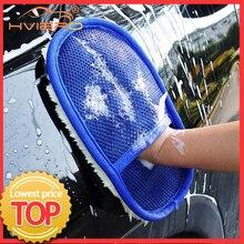 Gant de nettoyage de voiture en laine douce, accessoire de nettoyage de véhicule, de moto, brosse, produits d'entretien