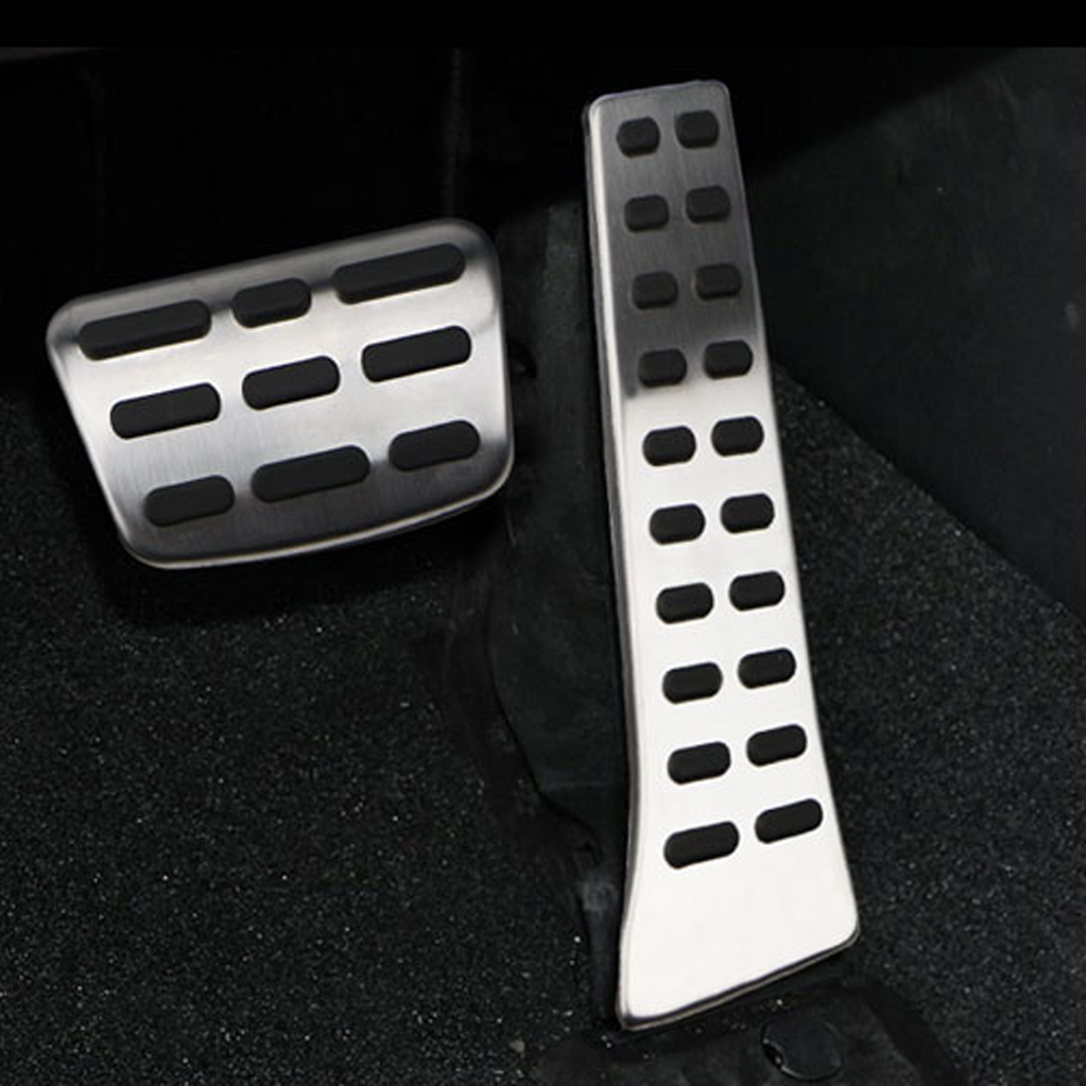 For Mazda 6 ATENZA M6 2017-2018 Aluminum Gas Pedal Brake Pedal Foot Pedals 3PCS