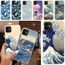 LJHYDFCNB Wave spray Cover Soft Shell Phone Case For iPhone 5C 5 5S SE 7 8 plus X XS XR XS MAX 11 11 pro 11 Pro Max ljhydfcnb wave spray cover soft shell phone case for iphone 6 6s plus 7 8 plus x xs xr xs max 11 11 pro 11 pro max cover