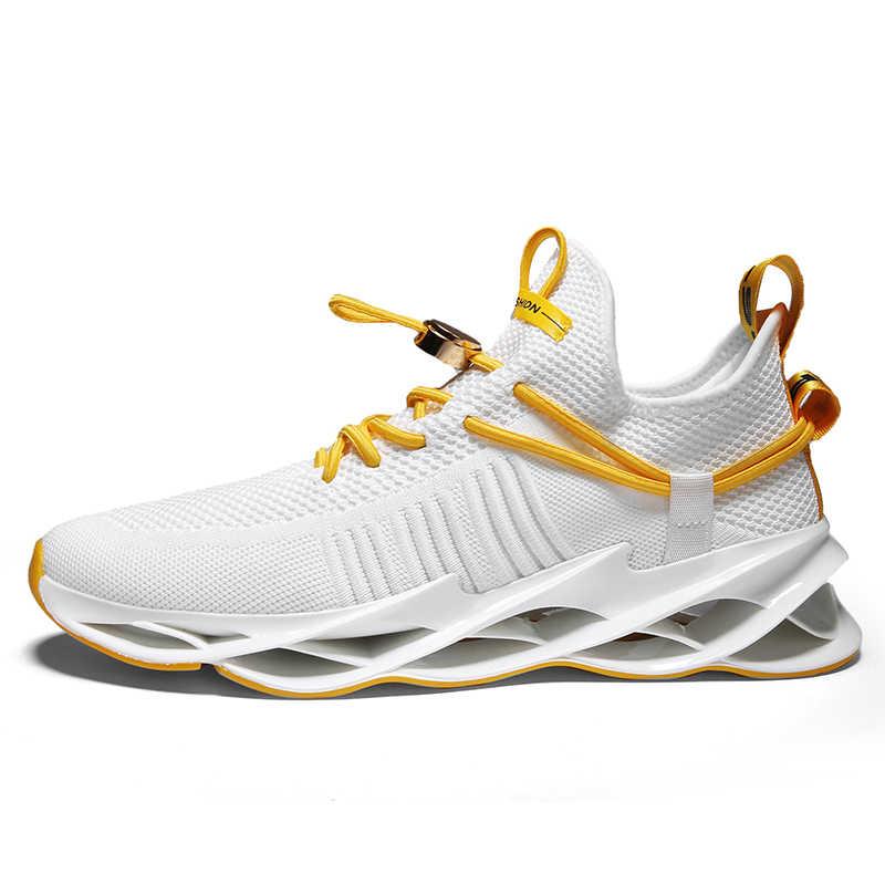Erkekler kadınlar spor ayakkabı koşu ayakkabıları Unisex çift 2020 trend hafif nefes örgü yürüyüş ayakkabı moda rahat ayakkabılar