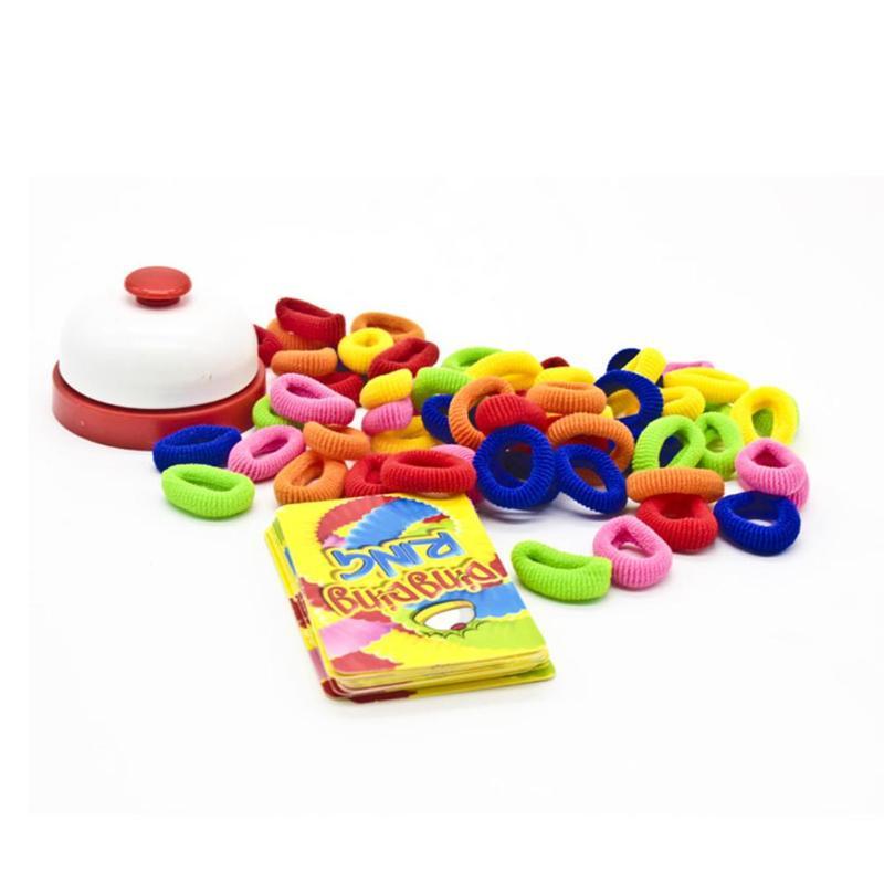 Детские кольца на палец, резинки, вечерние, быстрый отклик, настольная игра, обучающая игрушка