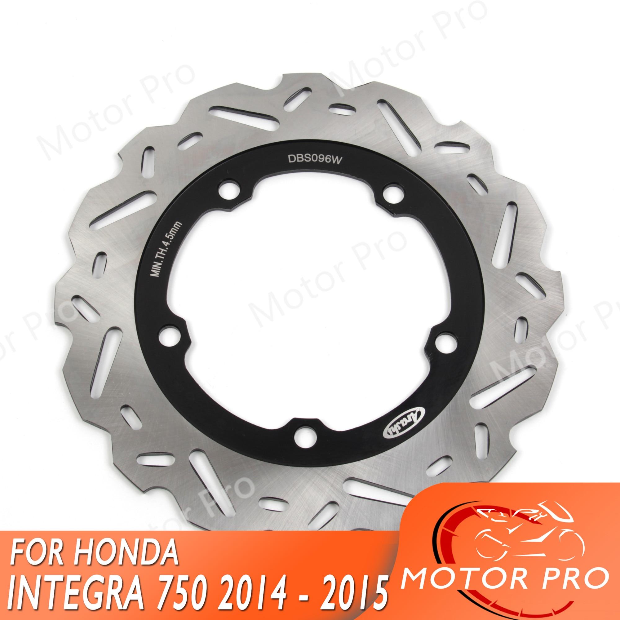 NC750S DCT Rear Brake Disc For Honda INTEGRA 750 2014 2015 Motorcycle Brake disk Rotors NC 750 S NC750 750S 750X NM4 VULTUS 700-in Brake Disks from Automobiles & Motorcycles    1