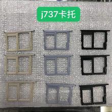 Slot Sim-Card-Tray Micro-Sd Adapter Phone-Housing Samsung for Galaxy J7 J737 New