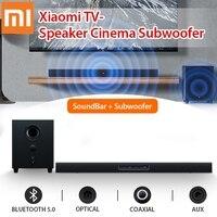 Xiaomi TV Speaker SoundBar Subwoofer BT Home Theater Cinema Wireless Touch Control 2.1Channel 5 Sound Aux 3.5mm Optical