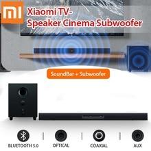 Xiaomi TV bluetooth динамик SoundBar Сабвуфер Домашний кинотеатр Кинотеатр Беспроводная связь 100 Вт Сенсорное управление 2.1 Канал 5 Звук Aux 3,5 мм Оптоволо...