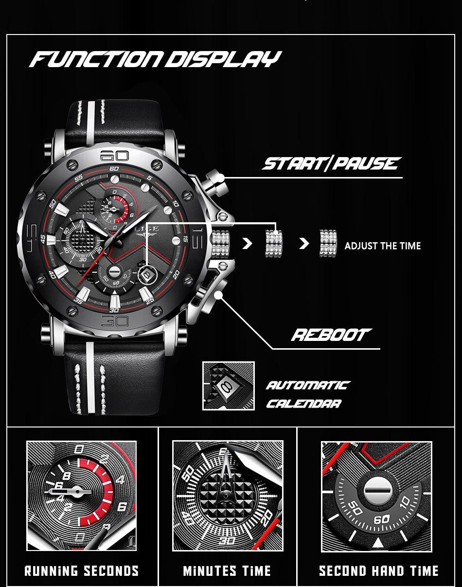 Relogio masculino moda relógios dos homens 2019