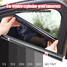 0.5x1.5M 5% 25% 50% Car Glass Window Tint Tinting Film Roll Scraper Car Roof Window Tint Film Glass